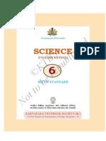 6th English Science