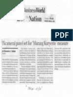 Business World, Mar. 4, 2019, Bicameral panel set for Murang Kuryente measure.pdf