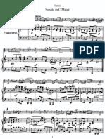 tartini violin sonata in c major