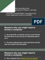 Windows7 Installation Guide Edit