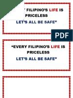 EVERY FILIPINO'S LIFE.docx