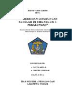 KARYA TULIS ILMIAH KEBERSIHAN LINGKUNGAN SEKOLAH 02.docx