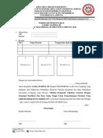 Formulir Pendaftaran EEF 2019 Mading 3D