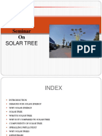 Civil Solar Tree Ppt