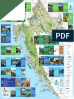 Camping in Parks Croatia - Map