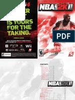 NBA2K11 PC Extended Manual