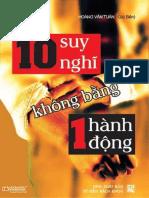 10 suy nghi khong bang mot hanh - Hoang Van Tuan.docx