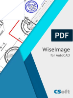 Raster editing application- WiseImage for AutoCAD