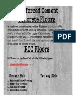RCC slabs