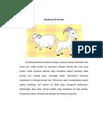 Kambing vs Domba