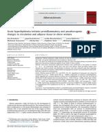 Acute Hyperlipidemia Initiates Proinflammatory Kang Deden