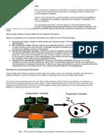 Definition of Conceptual Framework