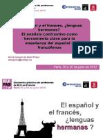 El Español y El Francés, Lenguas Hermanas