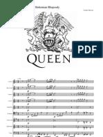 Bohemian Rhapsody for brass band