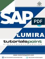 Sap Lumira 57250 Tutorial Point