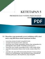 PPT ICN DIV 3 Ketetapan 5