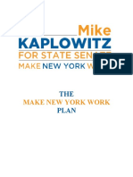 The Make New York Work Plan - Full Version