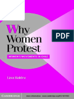 [Cambridge Studies in Comparative Politics] Lisa Baldez - Why Women Protest_ Women's Movements in Chile  (2002, Cambridge University Press).pdf