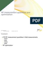 01 RF Measurement and Optimization