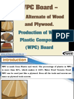 WPC Board - Best Alternate of Wood and Plywood