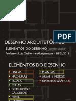 Elementos Do Desenho Arquitetônico