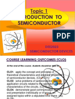 Intro to semiconductor