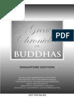 Buddhavamsa. the Great Chonicles of the Buddhas