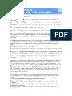 Las nuevas fronteras de la Sociedad de la Información - Documento Argentino