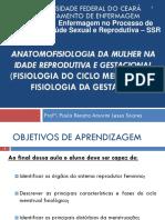 Anatomofisiologia Da Mulher Na Idade Reprodutiva