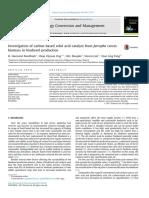 KFT Carbon-based Solid Acid Catalyst