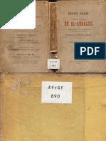 Adhari, Aben de Marruecos [Ibn 'Idari Al-Marrakusi] - Historias Del Al Andalus, Tomo 01