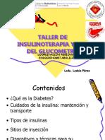 Taller Insulinoterapia y Uso Del Glucometro