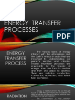 Energy Transfer Process