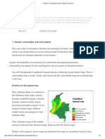 1. Hazard, Vulnerability and Risk Analysis _ Summary