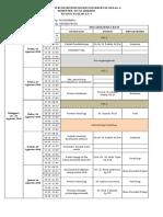 Jadwal Kuliah Sistem Muskuloskeletal 2016 2017