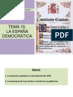 10 - La España Democratica