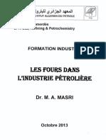 Formation Industrie Les Fours Dans l'Industrie Petroliere Octobre 2013