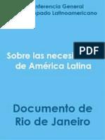CELAM - Documento Conclusivo de Rio de Janeiro (1955)