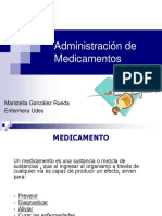 Administracón de Medicamentos