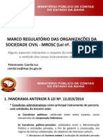 MROSC Lei 13019-2014 Aspectos Relevantes