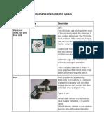bilal ashraf components of a computer system