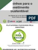Um Estudo da Lei de Informática na Zona Franca de Manaus