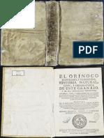 Gumilla, José - El Orinoco Ilustrado, y Defendido