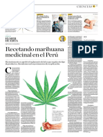 Recetando Marihuana Medicinal en El Perú