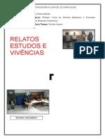 Plano de Formação - Relatos e Vivências - Corrigido
