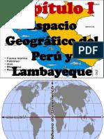 Capitulo 01 Geografía Del Perú y Lambayeque