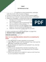 Q3 Performance Task