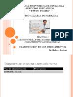 FARMACIA 3 Clasificación de Los Medicamentos - Copia