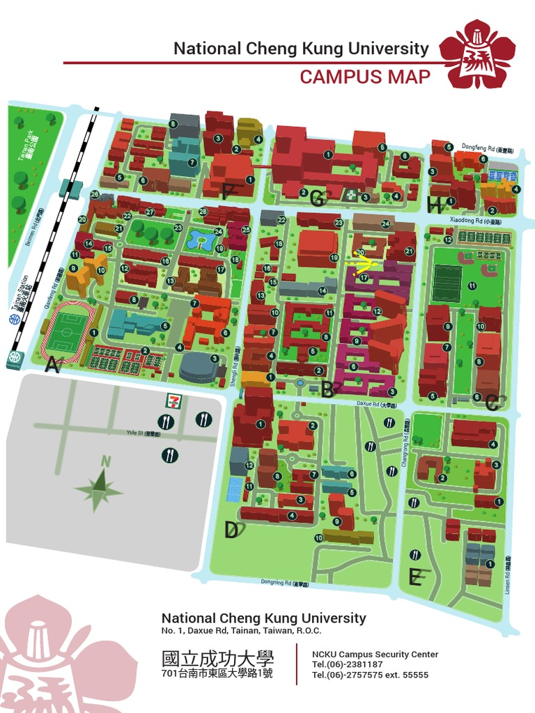 william paterson university campus map Ncku Campus Map Dormitory Science And Technology Free 30 Day william paterson university campus map