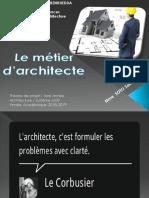 1 Le Metier Darchitecte